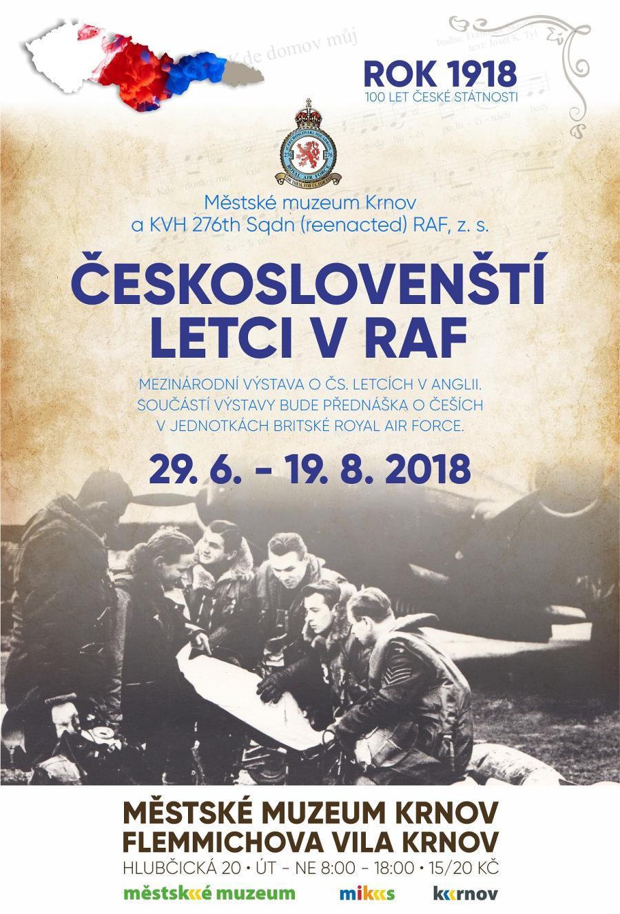 fc0c1788933 MIKS Krnov - Českoslovenští letci v RAF